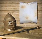 Knight armor Royalty Free Stock Photography