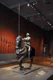 Knight with Armor at Chicago Art Institute Stock Images