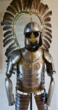 Knight armor. Armor exhibition in museum in Mir Castle Royalty Free Stock Image