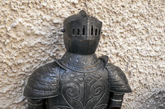Knight armor. Knight armor at the medieval castle of Konopiste Royalty Free Stock Image