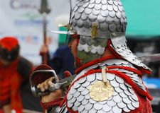 Knight in armor Royalty Free Stock Photos