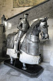 Knight Armors. Medieval armor of a knight and his horse Stock Photography