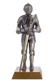 Knight in armour Stock Photo