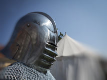 Knight in armour Royalty Free Stock Image