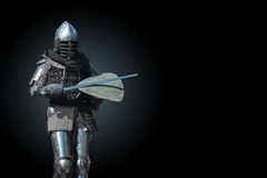 Knight in armour Royalty Free Stock Photos
