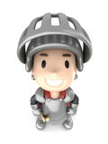 Knight boy Stock Photography