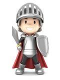 Knight boy Stock Photo