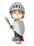 Knight boy Stock Photo