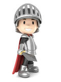 Knight boy Stock Images