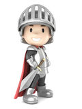 Knight boy Royalty Free Stock Image