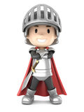 Knight boy Stock Image