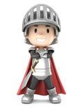 Knight boy Stock Image