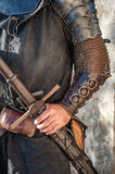 Knight. The brave knight with his big sword Royalty Free Stock Images