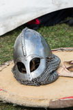Knight camp during the traditional Medieval festival Royalty Free Stock Image