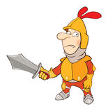 Knight Cartoon Character Stock Photography