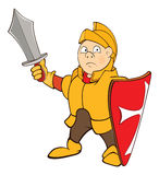 Knight Cartoon Character Royalty Free Stock Images