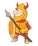 Knight Cartoon Character Stock Photo