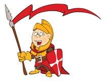 Knight Cartoon Character Royalty Free Stock Image