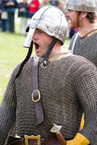 Knight in chainmail Royalty Free Stock Photography