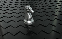 Knight chess piece Stock Image