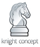 Knight Chess Piece Concept Stock Photo