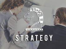 Knight Chess Piece Strategy Graphic Concept Royalty Free Stock Photo