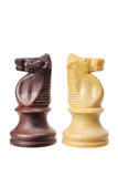 Knight Chess Pieces Royalty Free Stock Photography