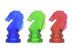 Knight Chess Pieces Stock Photography