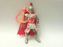 Knight. Children`s toy figure knight Stock Image