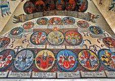 Knight Emblem Royalty Free Stock Photography