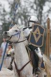 Knight en armadura Imagenes de archivo
