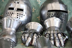 Knight equipment Stock Image