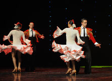 Knight of glory-Spanish flamenco-the Austria's world Dance Royalty Free Stock Photo