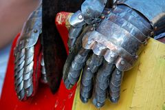 Knight gloves Stock Photography