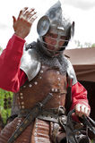 Knight greetings Royalty Free Stock Image