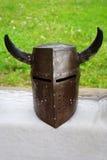 Knight helmet Royalty Free Stock Photo