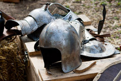 knight helmet Royalty Free Stock Photography