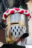 Knight helmet Stock Photos