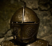 Knight helmet Royalty Free Stock Image