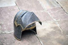 Knight helmet Stock Image