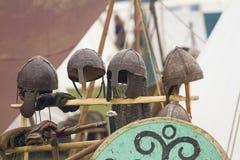 Knight helmets Royalty Free Stock Photography