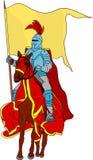 Knight on horse royalty free illustration