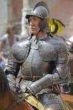 Knight on horse Stock Photos