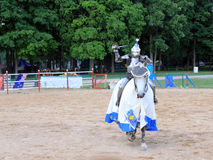 The Knight on Horse Stock Photos