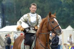 Knight on horse 1572 Royalty Free Stock Photo