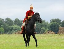 Knight on horse 1572 Stock Photos