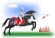 Knight-horse-5 Stock Image
