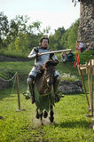 Knight on the horse Royalty Free Stock Image