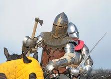 The knight on horseback Royalty Free Stock Photo