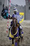 Knight on horseback Stock Photos